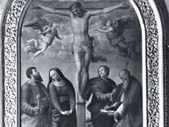 immagine di Crocifisso con Santi