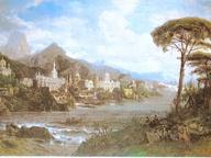 immagine di Veduta fantastica dei principali monumenti d'Italia
