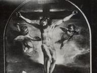 immagine di Crocifissione con la Vergine, San Giovanni e San Sebastiano