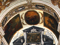 immagine di Cristo in gloria tra angeli