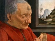 immagine di Ritratto di vecchio con nipote