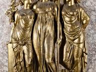 immagine di Rilievi in stucco dorato