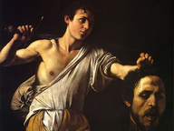 immagine di Davide con la testa di Golia
