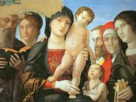 immagine di Madonna col Bambino e Santi