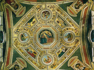 immagine di Incoronazione della Vergine, Evangelisti, Dottori e Sibille