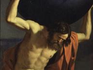 immagine di Atlante che sostiene il globo celeste