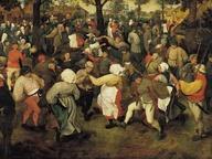 immagine di Pieter Bruegel, La danza della sposa