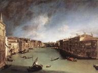 immagine di Il Canal Grande da Ca' Balbi verso Rialto
