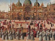 immagine di Processione in Piazza San Marco