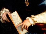 immagine di Ritratto di giovane donna col Petrarchino