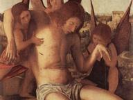 immagine di Pietà con tre angeli