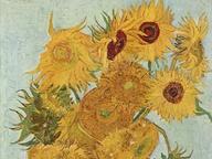 immagine di Vaso con dodici girasoli