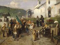 immagine di La partenza dei coscritti del 1866