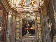 immagine di Madonna del Rosario con i Santi Domenico e Santa Caterina da Siena