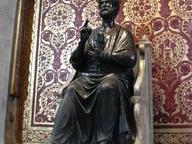 immagine di Statua in bronzo di San Pietro