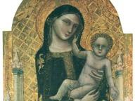 immagine di Madonna col Bambino e donatori, detta Madonna dei denti
