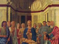 immagine di La Vergine con il Bambino e i Santi