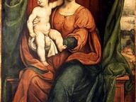 immagine di Madonna in trono con Santi
