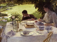 immagine di Colazione in giardino
