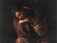immagine di San Francesco in preghiera