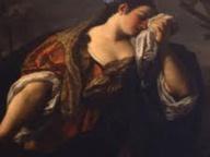 immagine di Santa Margherita da Cortona ritrova il cadavere dell'amante