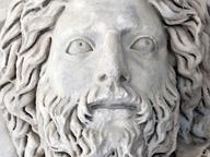 immagine di Sala IV, il medaglione con busto di Giove