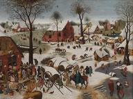 immagine di Pieter Bruegel il Vecchio, Il censimento a Betlemme