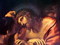 immagine di Gesù Cristo incoronato di spine