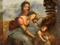 immagine di Sant'Anna, la Vergine e il Bambino