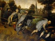 immagine di Pieter Bruegel Il Vecchio, La parabola dei ciechi