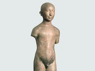 immagine di Nudo di giovinetto (Ritratto del figlio) (Nudo in piedi) (Adolescente)