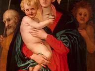 immagine di Sacra famiglia con San Giovannino