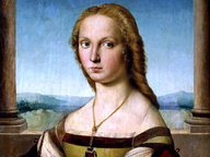 immagine di Dama col liocorno