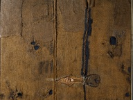 immagine di Abstraction with Brown Burlap (Sacco)