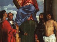 immagine di San Marco in trono