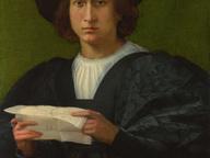 immagine di Ritratto di Giova Uomo che legge una Lettera