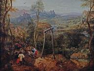 immagine di Pieter Bruegel Il Vecchio, Gazza sulla forca