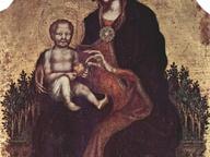 immagine di Madonna in trono con Bambino e angeli