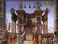 immagine di San Filippo scaccia il dragone dal tempio di Hierapolis