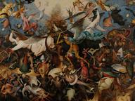 immagine di Pieter Bruegel Il Vecchio, La caduta degli angeli ribelli