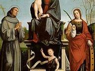 immagine di Madonna col Bambino e Santi e Pietà