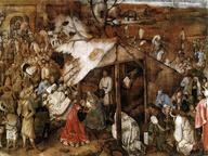 immagine di Pieter Bruegel Il Vecchio, Adorazione dei magi