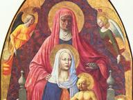 immagine di Madonna col Bambino, sant'Anna e angeli