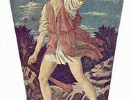 immagine di David con la testa di Golia