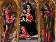 immagine di Madonna con Bambino tra Giovanni Battista e Andrea