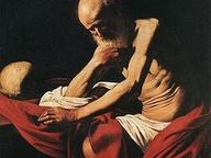 immagine di San Girolamo in meditazione