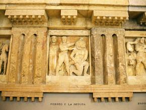 immagine di Testa di Gorgone del IV sec. a.C.