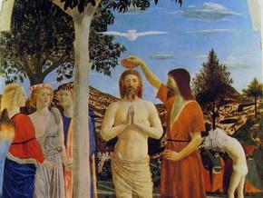 immagine di Il Battesimo di Cristo