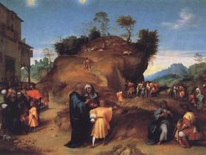 immagine di Storie dell'infanzia di Giuseppe e Giuseppe che interpreta i sogni del faraone