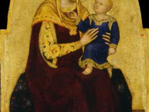 immagine di Madonna col Bambino in trono